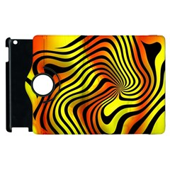 Colored Zebra Apple Ipad 3/4 Flip 360 Case