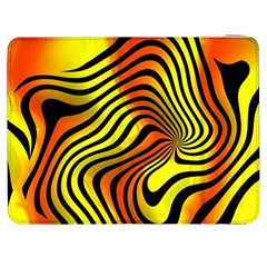 Colored Zebra Samsung Galaxy Tab 7  P1000 Flip Case