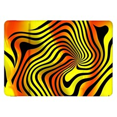 Colored Zebra Samsung Galaxy Tab 8.9  P7300 Flip Case