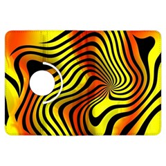 Colored Zebra Kindle Fire HDX 7  Flip 360 Case