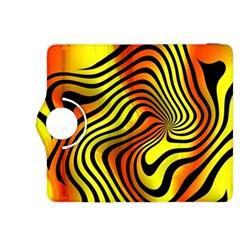 Colored Zebra Kindle Fire HDX 8.9  Flip 360 Case