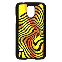 Colored Zebra Samsung Galaxy S5 Case (Black)