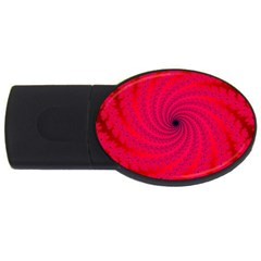 Fracrtal 2gb Usb Flash Drive (oval)