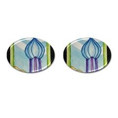Air Cufflinks (oval)