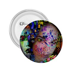 Artistic Confusion Of Brain Fog 2 25  Button