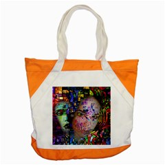 Artistic Confusion Of Brain Fog Accent Tote Bag