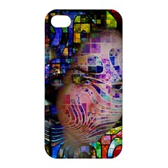 Artistic Confusion Of Brain Fog Apple Iphone 4/4s Hardshell Case