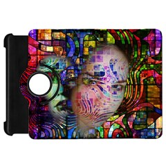 Artistic Confusion Of Brain Fog Kindle Fire HD 7  (1st Gen) Flip 360 Case