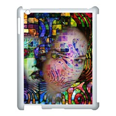 Artistic Confusion Of Brain Fog Apple Ipad 3/4 Case (white)