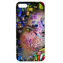 Artistic Confusion Of Brain Fog Apple Iphone 5 Hardshell Case With Stand