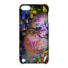 Artistic Confusion Of Brain Fog Apple Ipod Touch 5 Hardshell Case With Stand