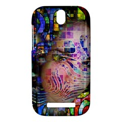 Artistic Confusion Of Brain Fog HTC One SV Hardshell Case