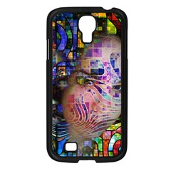 Artistic Confusion Of Brain Fog Samsung Galaxy S4 I9500/ I9505 Case (Black)