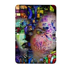 Artistic Confusion Of Brain Fog Samsung Galaxy Tab 2 (10 1 ) P5100 Hardshell Case