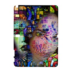 Artistic Confusion Of Brain Fog Samsung Galaxy Note 10.1 (P600) Hardshell Case