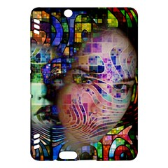 Artistic Confusion Of Brain Fog Kindle Fire Hdx 7  Hardshell Case
