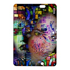 Artistic Confusion Of Brain Fog Kindle Fire HDX 8.9  Hardshell Case