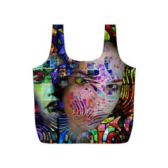 Artistic Confusion Of Brain Fog Reusable Bag (S)
