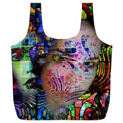 Artistic Confusion Of Brain Fog Reusable Bag (XL)