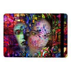 Artistic Confusion Of Brain Fog Samsung Galaxy Tab Pro 10.1  Flip Case