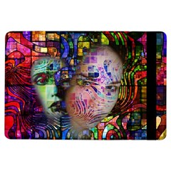 Artistic Confusion Of Brain Fog Apple iPad Air Flip Case