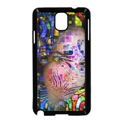 Artistic Confusion Of Brain Fog Samsung Galaxy Note 3 Neo Hardshell Case (black)
