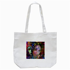 Artistic Confusion Of Brain Fog Tote Bag (White)