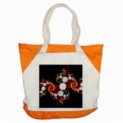 Mysterious Dance In Orange, Gold, White In Joy Accent Tote Bag