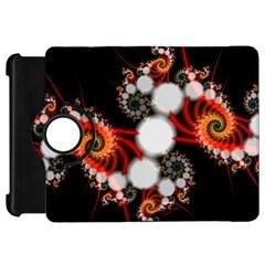 Mysterious Dance In Orange, Gold, White In Joy Kindle Fire HD 7  (1st Gen) Flip 360 Case