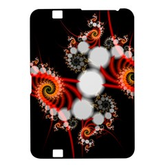 Mysterious Dance In Orange, Gold, White In Joy Kindle Fire Hd 8 9  Hardshell Case