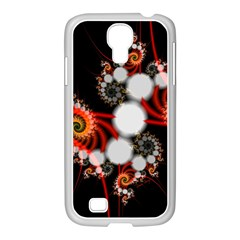 Mysterious Dance In Orange, Gold, White In Joy Samsung Galaxy S4 I9500/ I9505 Case (white)