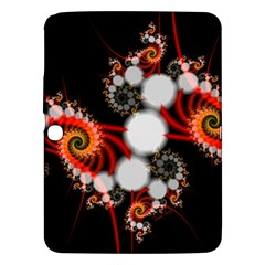 Mysterious Dance In Orange, Gold, White In Joy Samsung Galaxy Tab 3 (10 1 ) P5200 Hardshell Case
