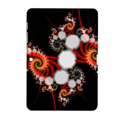 Mysterious Dance In Orange, Gold, White In Joy Samsung Galaxy Tab 2 (10 1 ) P5100 Hardshell Case