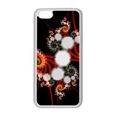Mysterious Dance In Orange, Gold, White In Joy Apple iPhone 5C Seamless Case (White)
