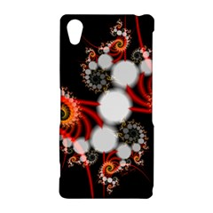 Mysterious Dance In Orange, Gold, White In Joy Sony Xperia Z2 Hardshell Case