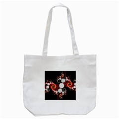 Mysterious Dance In Orange, Gold, White In Joy Tote Bag (White)