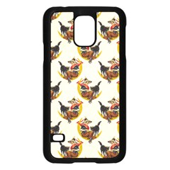 Vintage Halloween Witch Samsung Galaxy S5 Case (Black)