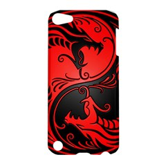Yin Yang Dragons Red And Black Apple Ipod Touch 5 Hardshell Case