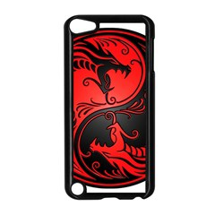 Yin Yang Dragons Red And Black Apple Ipod Touch 5 Case (black)