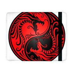 Yin Yang Dragons Red and Black Samsung Galaxy Tab Pro 8.4  Flip Case