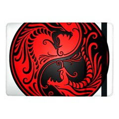 Yin Yang Dragons Red And Black Samsung Galaxy Tab Pro 10 1  Flip Case