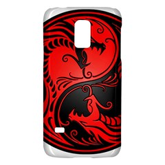 Yin Yang Dragons Red And Black Samsung Galaxy S5 Mini Hardshell Case
