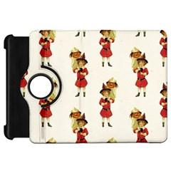 Vintage Halloween Girl  Kindle Fire HD 7  (1st Gen) Flip 360 Case
