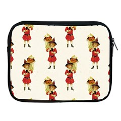 Vintage Halloween Girl  Apple iPad Zippered Sleeve