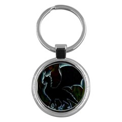 Dragon Aura Key Chain (round)