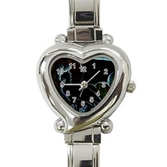Dragon Aura Heart Italian Charm Watch