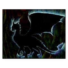 Dragon Aura Jigsaw Puzzle (rectangle)