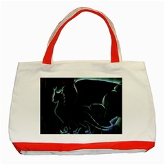 Dragon Aura Classic Tote Bag (Red)