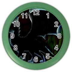 Dragon Aura Wall Clock (color)