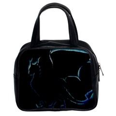 Dragon Aura Classic Handbag (two Sides)